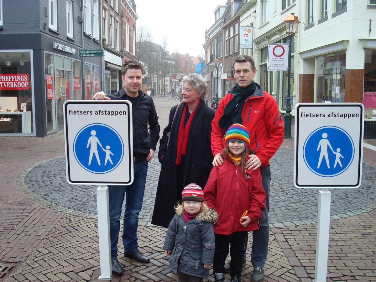 Nieuw verkeersbord moet veiligheid voetganger vergroten